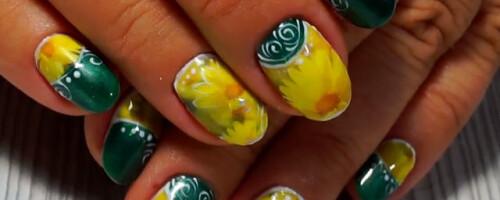 Как клеить наклейки (слайдеры) на ногти, водные или на гель-лак