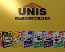 Плиточный клей Юнис, обзор всех видов бренда